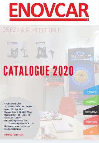catalogue materiel carrosserie et peinture ENOVCAR