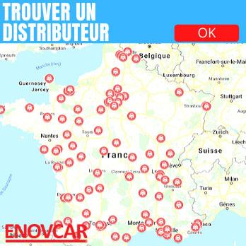 distributeurs produitd enovcar