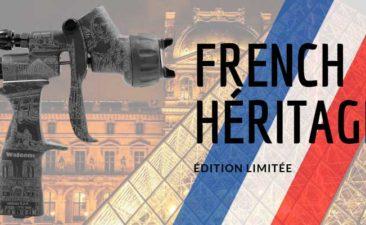 pistolet peinture et vernis french héritage walcom