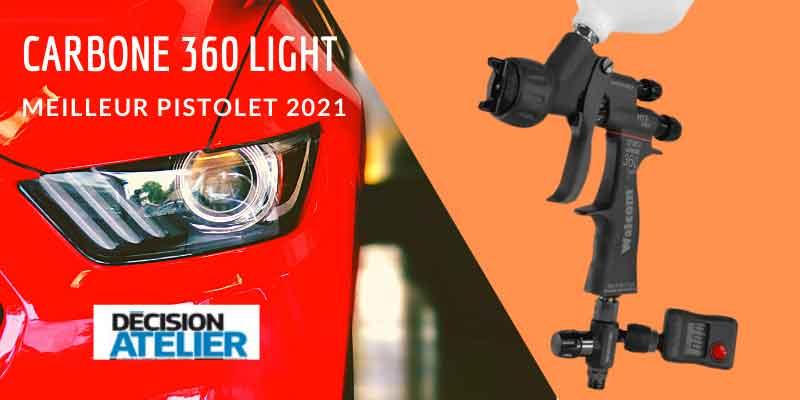 carbone 360 light elu meilleur pisrolet peinture 2021